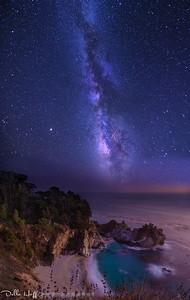 Cosmic Lineup, Big Sur, California