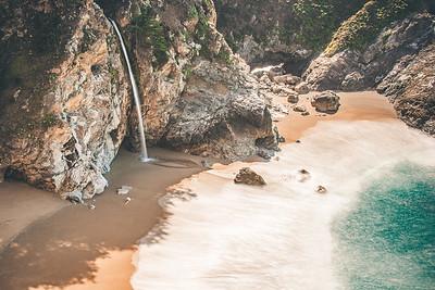 McWay Falls Closeup (Big Sur CA)