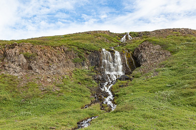 Stapavik Hike Waterfall