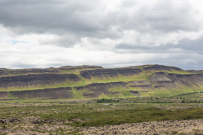 Scenery on way to Grabok Craters