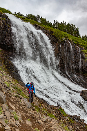 Bunarfoss Hike