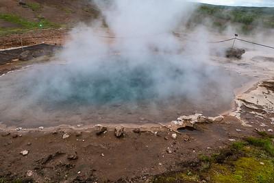 Haukadalur Geothermal area