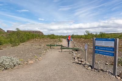 Hljodaklettar Lava Formations Hike