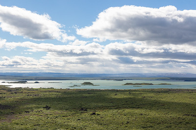 Myvatn Lake from Hverfell