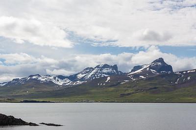 View across Borgarfjord