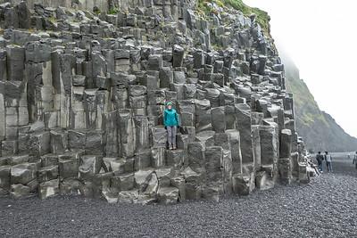 Reynisfjara Black Basalt Lava