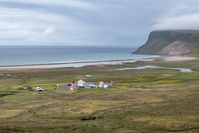 Breidavik Farm and Beach near Latrabjarg