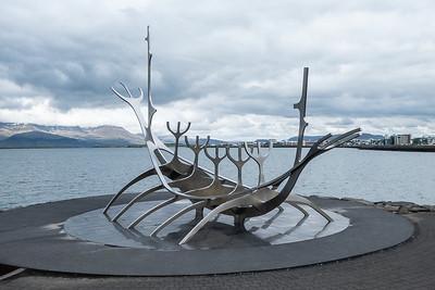 "Reykjavik ""Sun Voyager"" Sculpture"