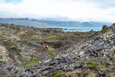 Arnarstapi to Hellnar Hike