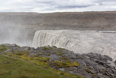 Dettifoss - the Other (West) Side