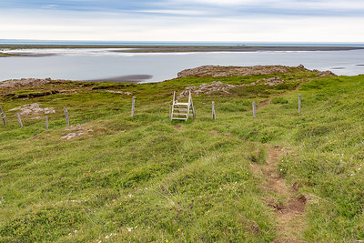 Stapavik Hike - Stile over fence