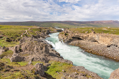 Godafoss - Lower Waterfall