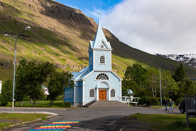 Seydisfjordur Blue Church