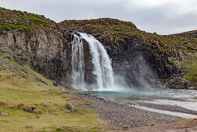 Fossdalur Waterfall