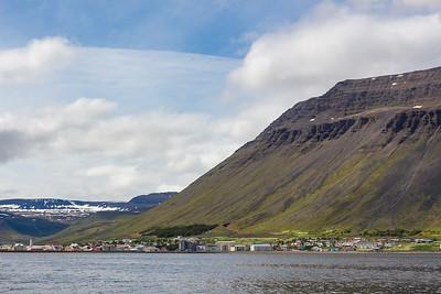 Vigur Island Tour - leaving Isafjordur