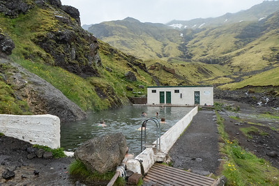Seljavallalaug Geothermal pool