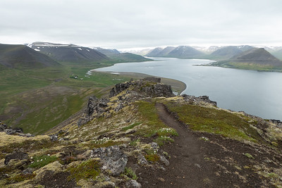 Myrarfell Hike - another view over Dyrafjord