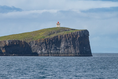 Ferry across Breidafjord - another Lighthouse