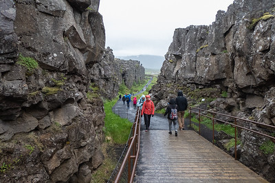 Thingvellir - Tectonic Plates meeting