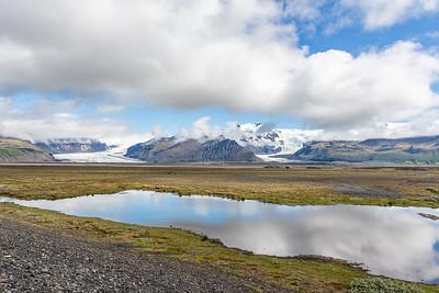 Skaftafellsjokull and Svinafellsjokull Glaciers