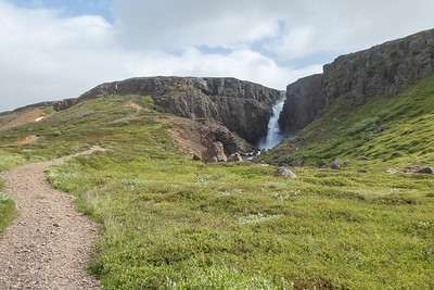 Fardagafoss - upper falls