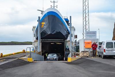 Ferry across Breidafjord