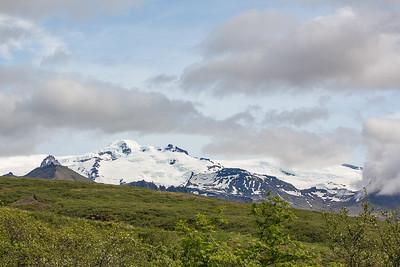 Hvannadalshnjufur, highest mountain in Iceland ~7000 ft