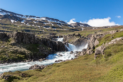 Watersfalls & Scenery above Seydisfjordur