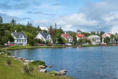 Reykjavik Tjornin Pond