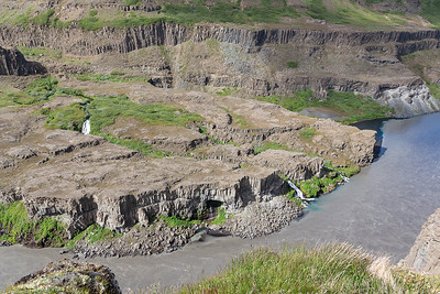 A View from the Hafragilsfoss Viewpoint!
