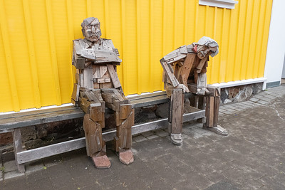 "Siglufjordur - Interesting ""Sculptures"""