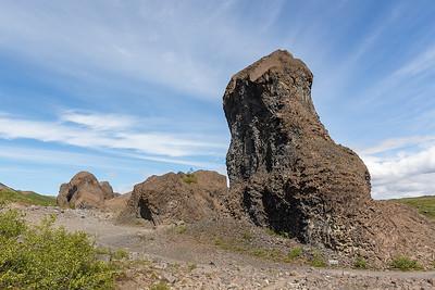 Hljodaklettar Lava Formations