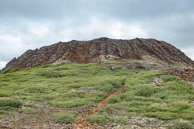 Eldborg Crater Hike