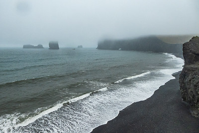 Dyrholaey Black Sand Beach