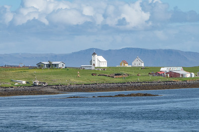 Ferry across Breidafjord - Flatey Island