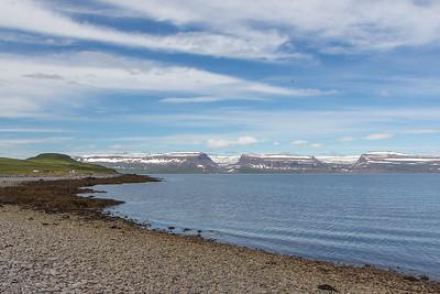Vigur Island Tour - view across Isafjardardjup fjord
