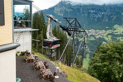 Murrenbahn Cable Car