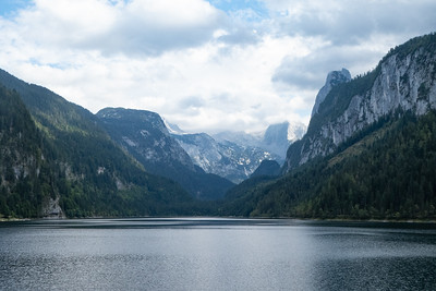 Gosausee and Dachstein Mountains
