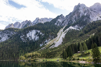 Gosausee and West Dachstein Mountains