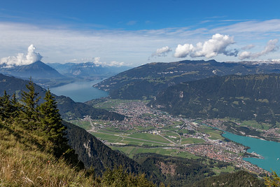 Interlaken, Bonigen, Brienzersee, Thunersee