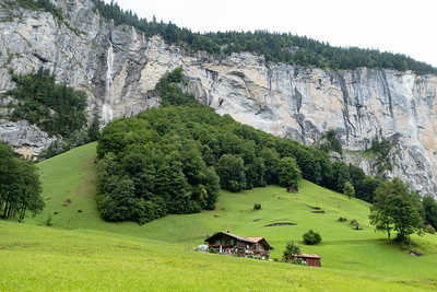 Lauterbrunnen Valley Scene