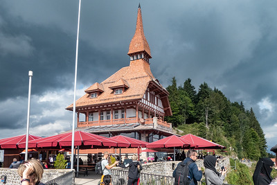 Restaurant at Top of Harder Kulm