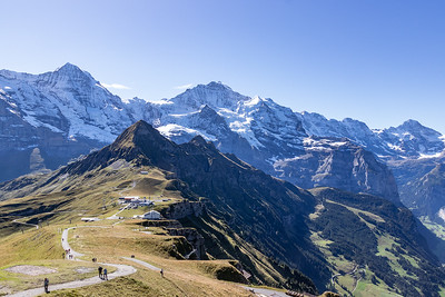 Monch and Jungfrau and Top Station