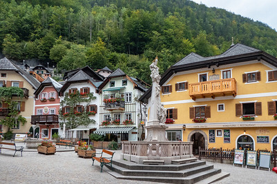 Hallstatt Central Square
