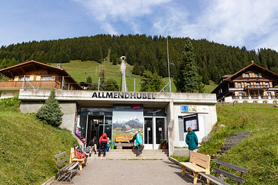 Allmendhubel Funicular Base Station