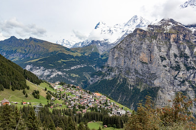 Town of Murren Down Below
