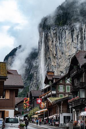 Lauterbrunnen and Staubbachfall