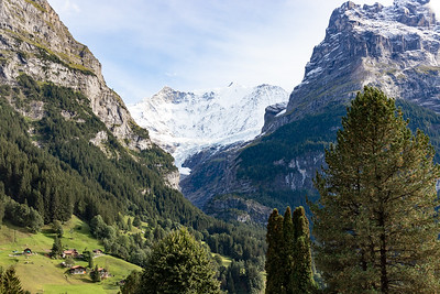 Glacier View from Grindelwald