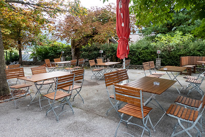 Dining Patio at the Kirchenwirt