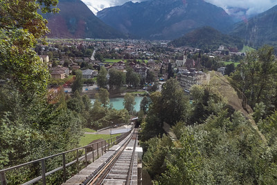 Funicular Up to Harder Kulm